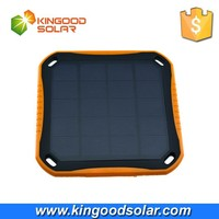 2015 newest portable 5600mah dual USB window solar mobile charger