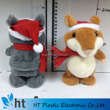 christmas style X hamster for children/talking hamster for kids