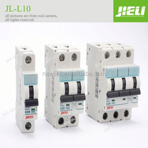 Free sample 3 phase 63 amp 1p 2p 3p 4p mcb circuit breaker switch