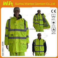 Suzhou 7 IN 1 jacket High visibility Yellow reflective apparel