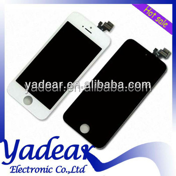 OEM display for apple iphone 5 lcd original digitizer IN Alibaba