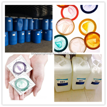polydimethylsiloxane PDMS lubricating fluid for latex condom chemical additives