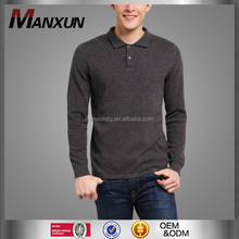 High Quality Men's Slim Fit Cotton T Shirt Wholesale China Golf Long Sleeve Polo T Shirt