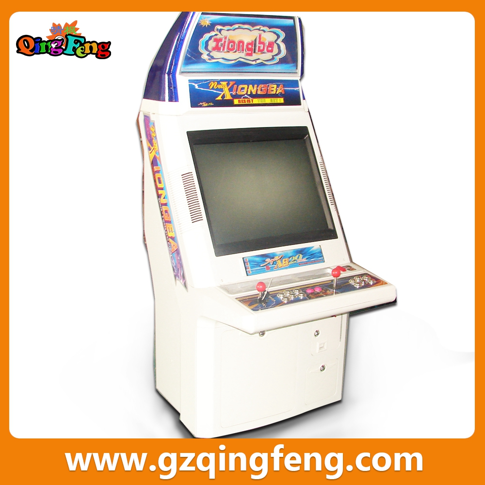Qingfeng hot sale pc board video games cabinet lana video slot machine video games