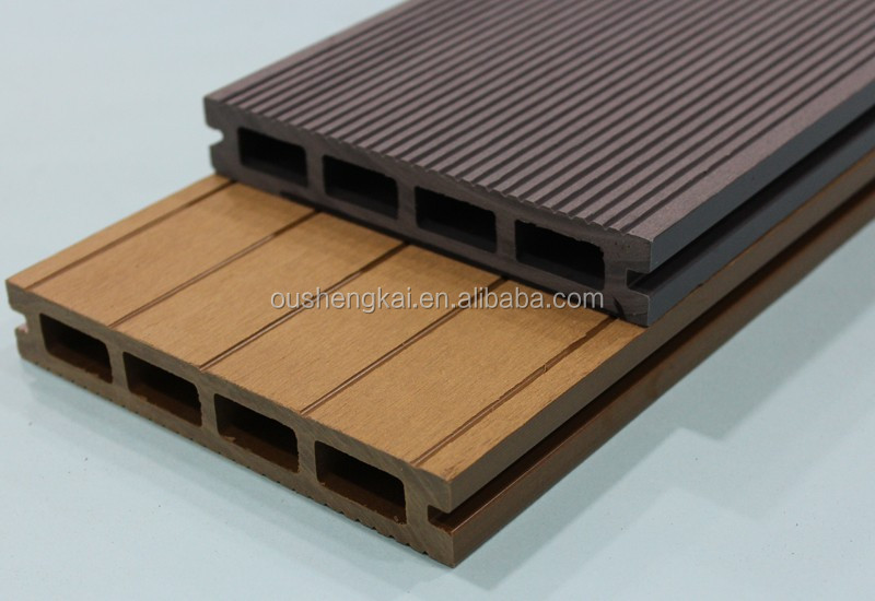 Composit deck wpc wood plastic composite board outdoor