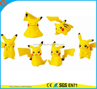High Quality Charming Fashion Popular Toy Pokemon Go Toy Custom Action 6 Designs Pikachu Doll for Children