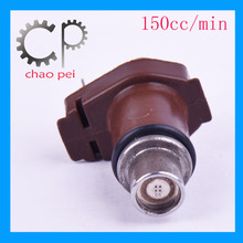 motorcycle engine parts 150cc/min fuel injector for sale