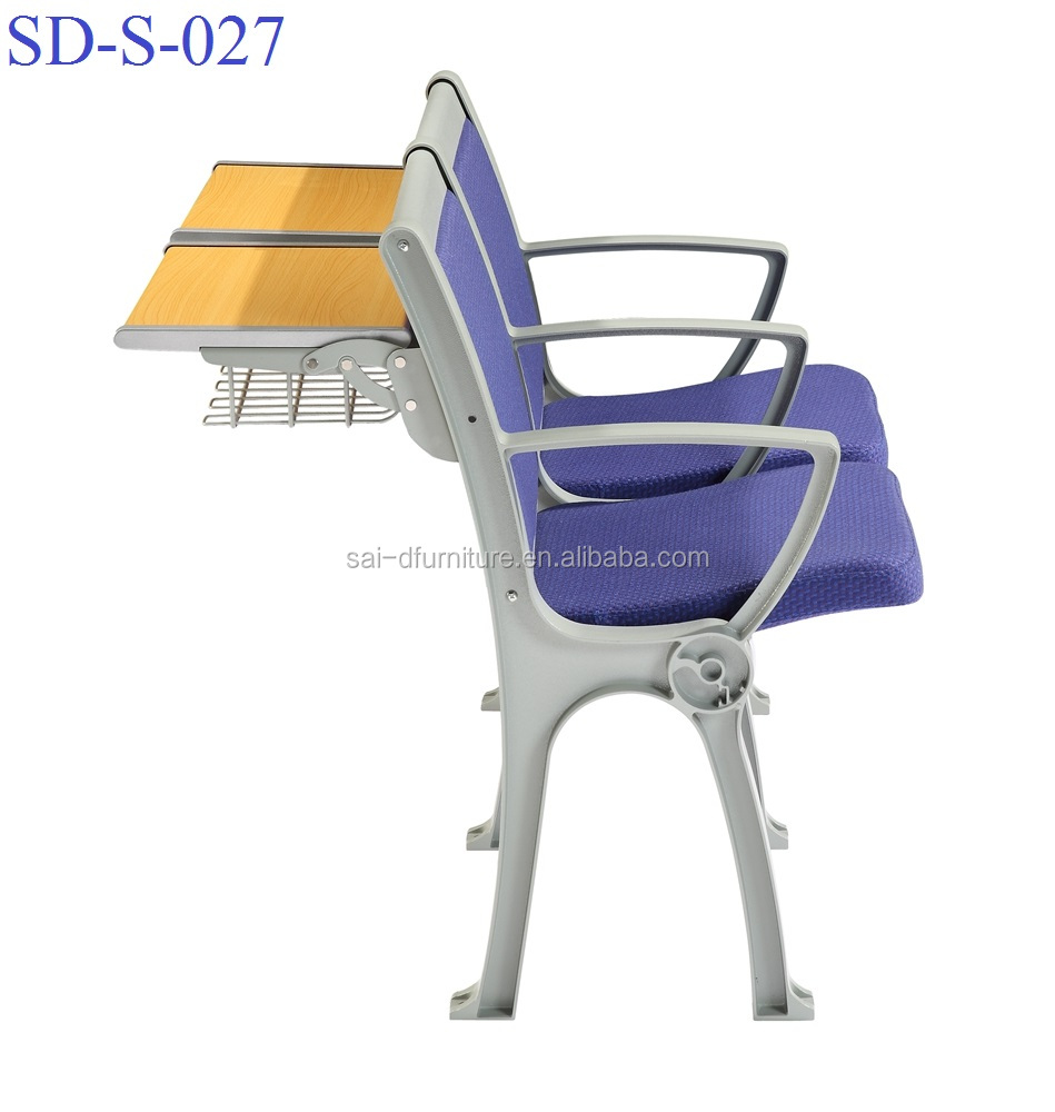 No.SD-S-027 Popular desk with chair for school