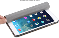 Scroll stand support cover case for ipad5