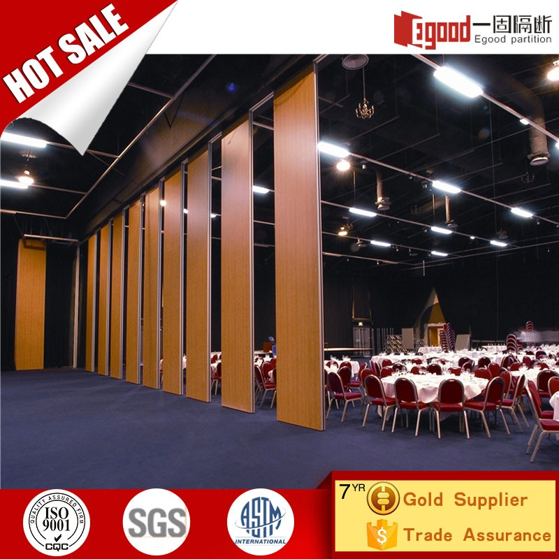 Soundproof sliding folding partition amovible partition fancy room dividers for India hotel