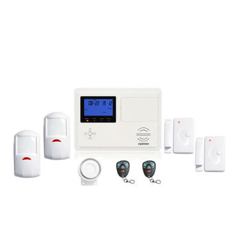 Kit de alarma inalámbrico pstn y gsm de doble red OP-D99