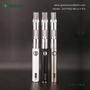 Innovative products GS PTS01 Micro 5Pin Passthrough vapor pen Passthrough battery accept paypal