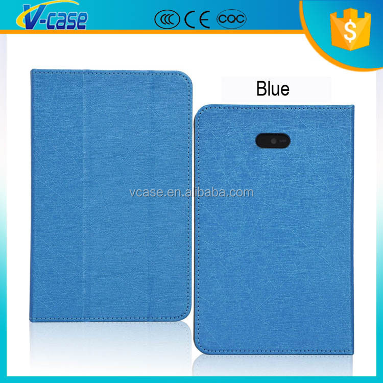 High quality pu material leather case for dell venue 7 tablet