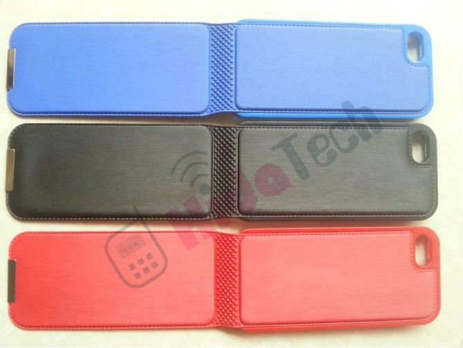 Flip Leather Skin Case for iphone 5 5G,with Magnet and inside plastics cover design