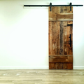 Amazon latest design wooden barn doors hardware