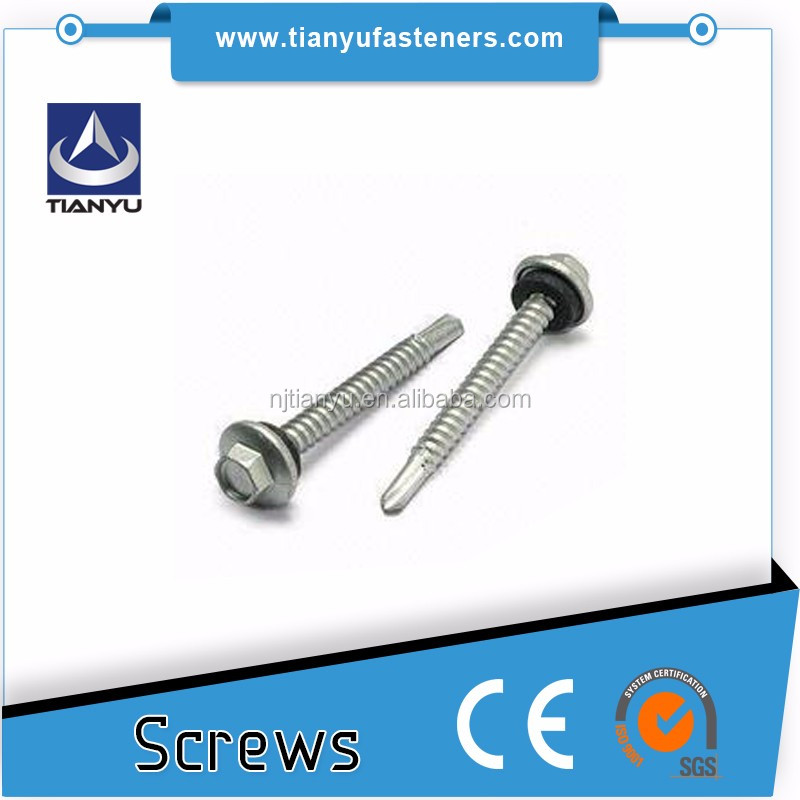 14 x 50mm Galvanised Type 17 Bugle Batten Screws for Timber Wood Decking