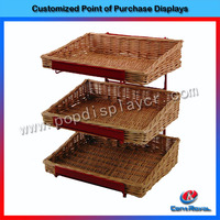 Custom made 3-tier flooring cake display stand