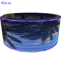 round column flexible curve led display screen