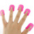 hot selling 26pcs Nail Polish Edge Anti-Flooding Plastic Template Clip Manicure Protector Tools set