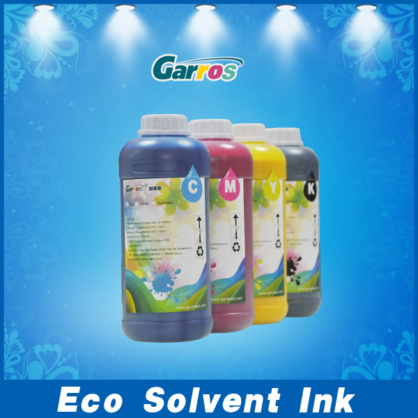 Compatible for DX4/DX5/DX6 Printhead, High performance printing Eco Solvent Ink For Roland Mimaki Mutoh