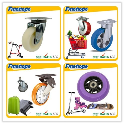 Fashion product shopping trolley wheel 2-4