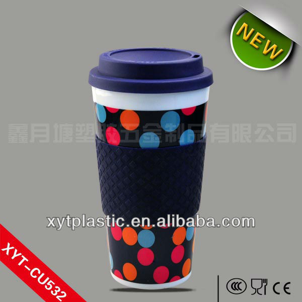 Shenzhen Plastic Coffee Cups with Cover