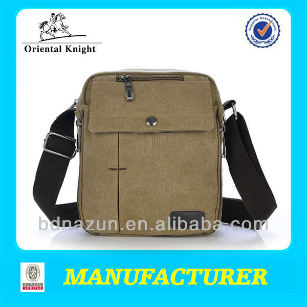 small durable canvas sling bag for boys school cheap price