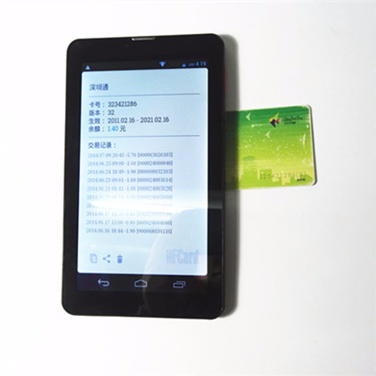 7 inch IPS 1280*800 screen android nfc tablet PC