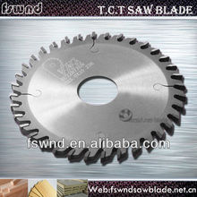 Best working result tct grooving saw blade for soft and hard wood,MDF