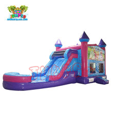 2017 cheap inflatable jumpimg castle bouncer slide combo for sale