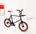 SEic select bike with carrier 20 inch mini velo fixed gear city bicycle