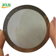 Metal cloth strainer stainless steel filters for coffee