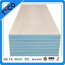 Easy installation fireproof thermal insulation fiberglass composite tile board