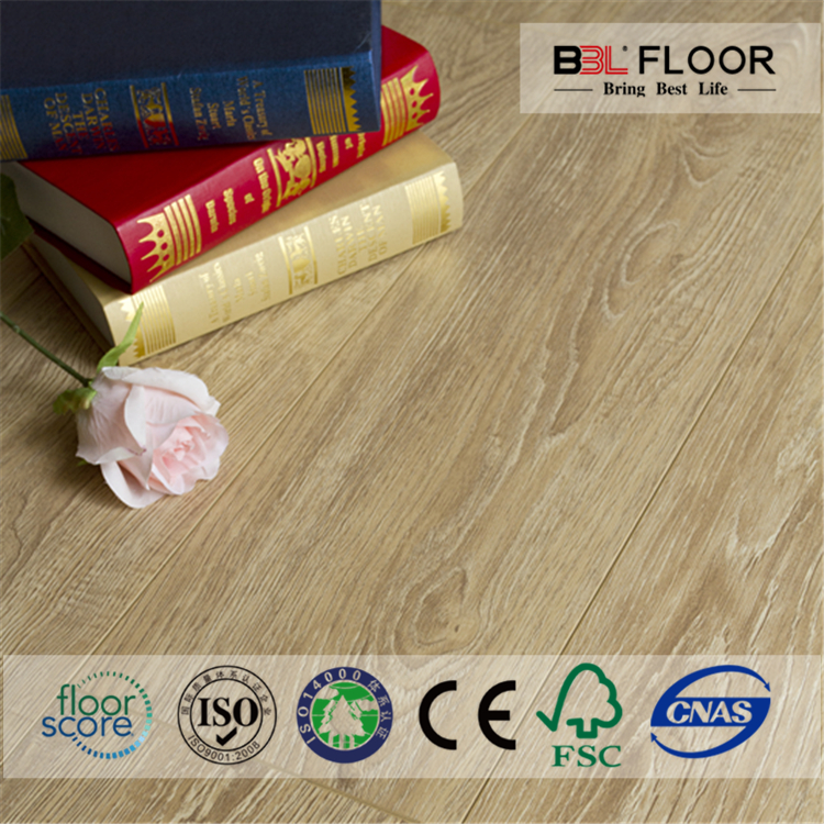 TUV ISO14001 eternity floor laminate for home decoration