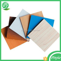 linyi Plain, Melamine or Veneered MDF board for kitchen cabinet