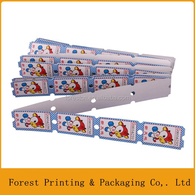 raffle ticket printing