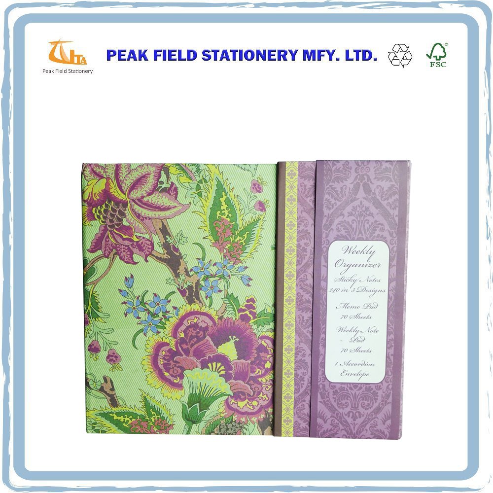 High Quality Business Writing Pad Memo Pad Sticky Note With Page Marker