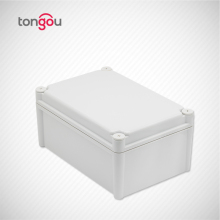 Custom IP68 waterproof electric aluminum junction box with sand blast