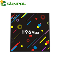 2018 New tv box H96 MAX H2 Android 7.1 Smart TV box Rockchip RK3328 Quad-core 4GB RAM 32GB ROM H96MAX H2