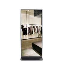 42 inch touchscreen lcd advertising magic mirror display with photobooth