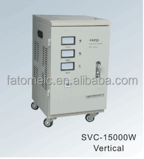 SVC Single phase automatic AC Voltage Stabilizer with Input Voltage of 160 to 250V