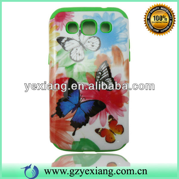Guangzhou Factory Cell Phone Custom Cover For Samsung Galaxy Vin I8552 Case
