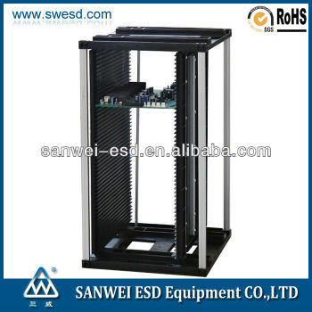 3W-9805301A SMT ESD Anti-static PCB Magazine Rack PCB Storage Rack