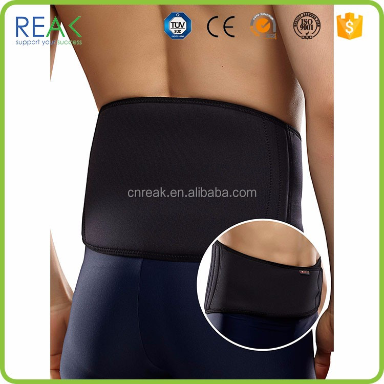Hot selling leather back support belt Professional cheap