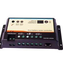 EPIPDB.com-20A 20A 12V/24V Dual Battery Charger Controller for RVs, boat