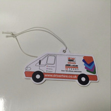 Europe Hot sale high quality cheap auto air freshener hanging paper car air freshener wholesale