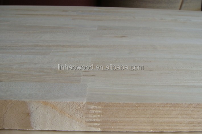 high quality good price paulownia finger joint wood panels