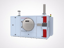 Molybdenum hot zone debinding and sintering vacuum furnace with H2/Hydrogen for metal injection moulding MIM
