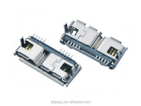 USB TYPE B CONNECTOR RECEPTACLE