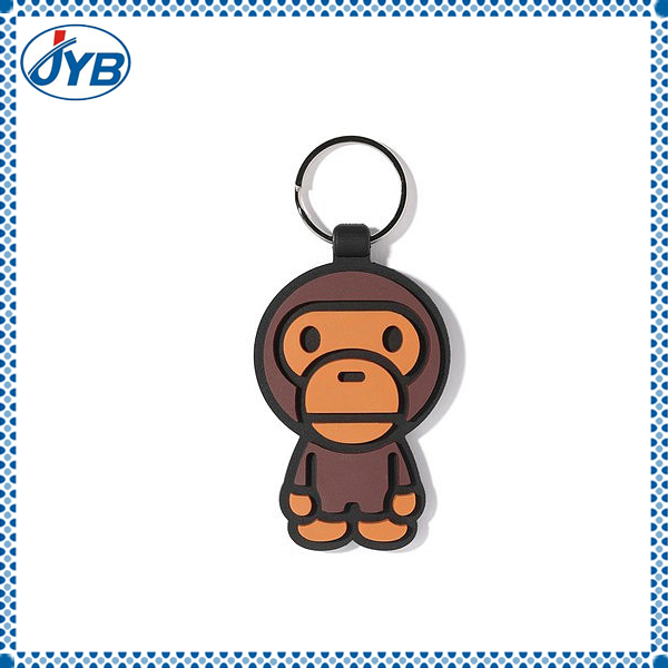promotional plush small Russian keychain doll